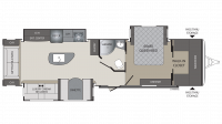 2018 Premier 34RIPR Floor Plan