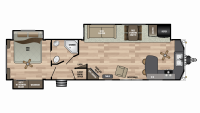 2019 Residence 40FKSS Floor Plan