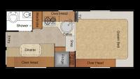 2015 Lance 865 Floor Plan