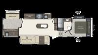 2017 Laredo 357BH Floor Plan