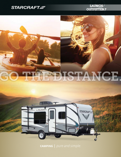 2018 Starcraft Launch Outfitter 7 RV Brochure Cover