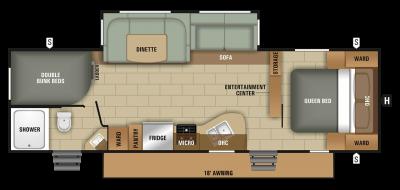 launch-ultra-lite-starcraft-rv-travel-trailer-camper-floorplan-27bhu