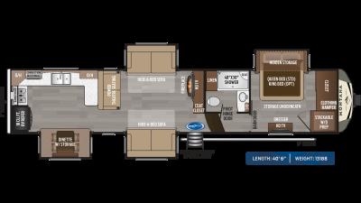 Montana 3700LK Floor Plan - 2020
