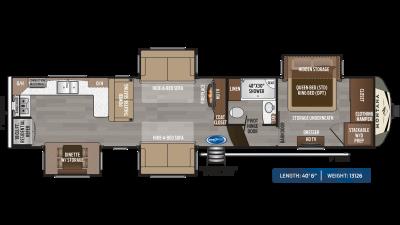 Montana 3701LK Floor Plan - 2020