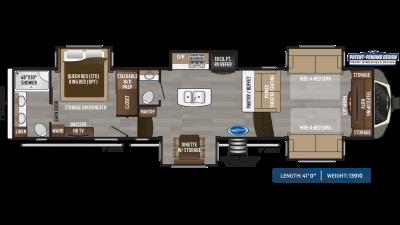 Montana 3760FL Floor Plan - 2020