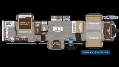 Montana 3761FL Floor Plan - 2020