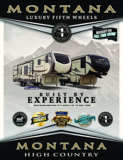 2018 Keystone Montana RV Brand Brochure Cover