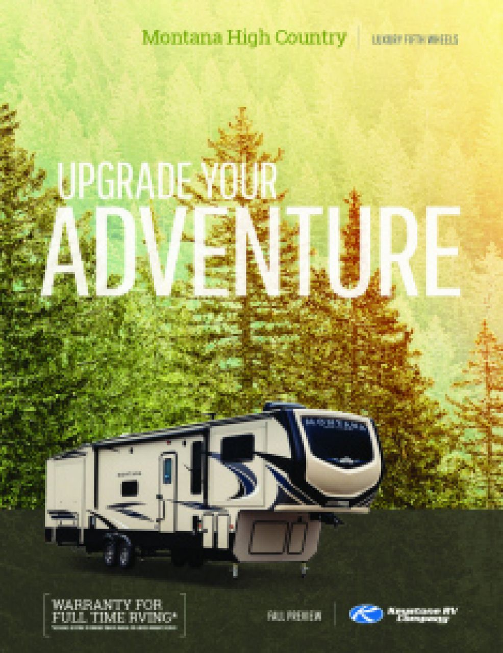 2019 Keystone Montana High Country RV Brochure Cover