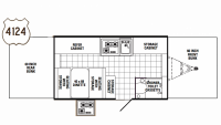 2010 Yearling 4124 Floor Plan