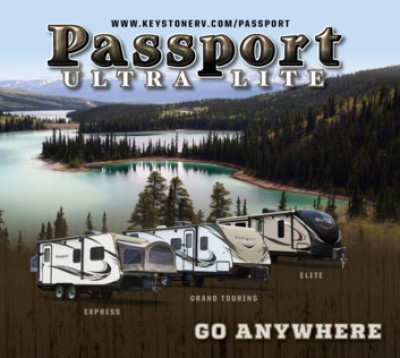 2017 Keystone Passport Express RV Brand Brochure Cover