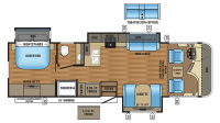 2017 Precept 31UL Floor Plan