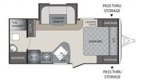 2015 Premier 19FBPR Floor Plan