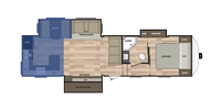 Rear Kitchen Floor Plan