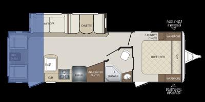 Rear Living Floor Plan