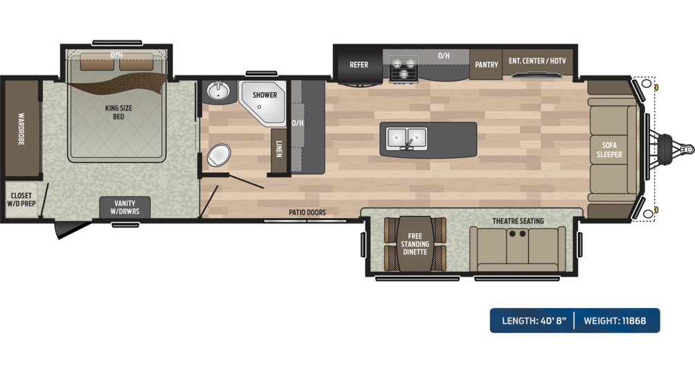 Residence 401MKTS Floor Plan - 2020