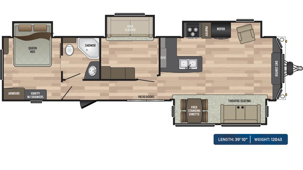 Residence 40MBNK Floor Plan - 2020