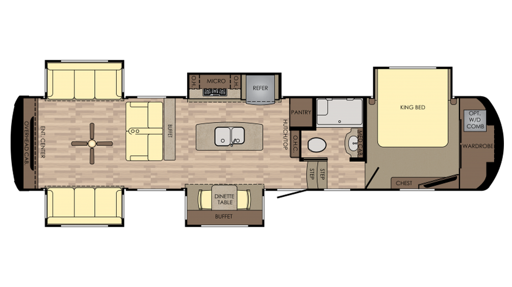 2018 Redwood 3991RD Floor Plan