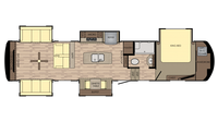 2019 Redwood 3991RD Floor Plan