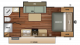 2018 Launch Outfitter 21FBS Floor Plan