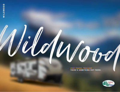 2018 Forest River Wildwood RV Brochure Cover
