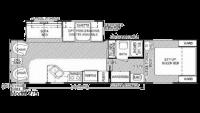 2004 Celebrity 275 Floor Plan