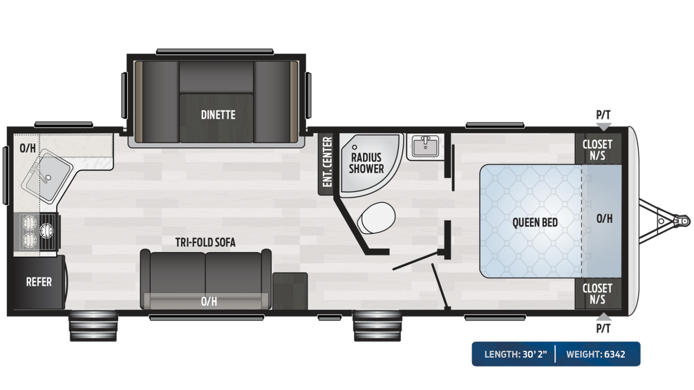 Springdale 262RK Floor Plan - 2020