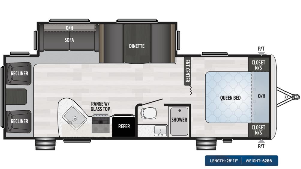 Springdale 266RL Floor Plan - 2020