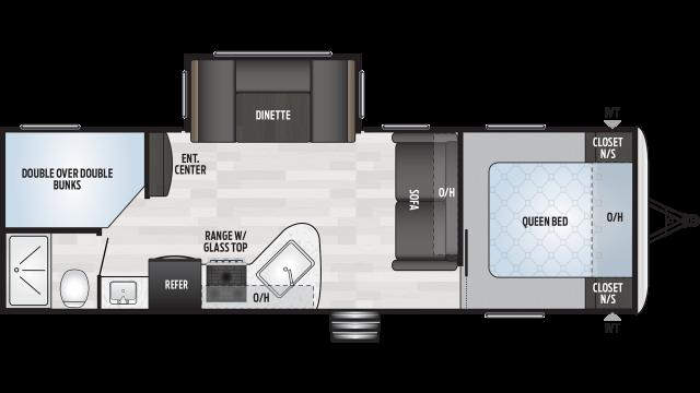 2020 Springdale 275BH Floor Plan