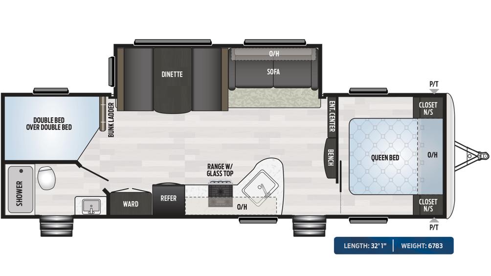 Springdale 282BH Floor Plan - 2020