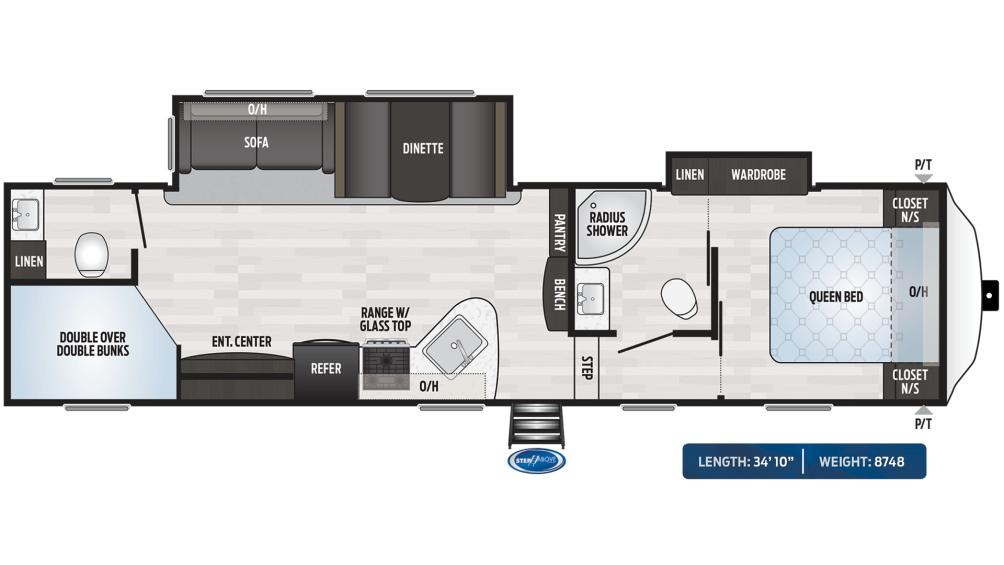 Springdale 300BH Floor Plan - 2020