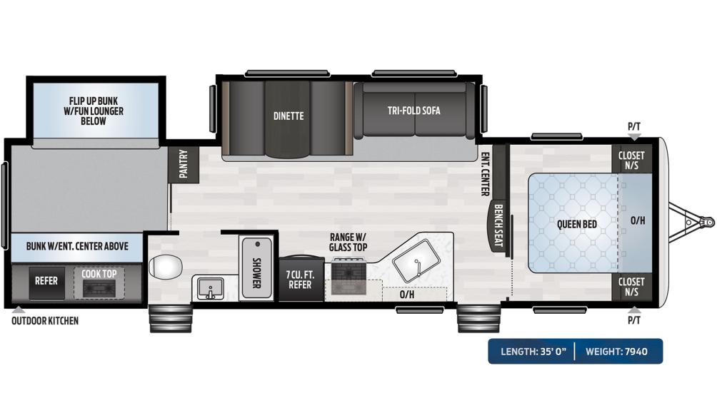 Springdale 303BH Floor Plan - 2020