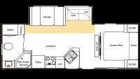 2010 Sprinter Select 25RB Floor Plan