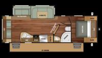 2019 Autumn Ridge 262RLS Floor Plan