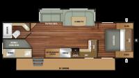 2019 Autumn Ridge 282BH Floor Plan