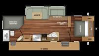 2018 Autumn Ridge 289BHS Floor Plan