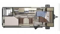 2019 Autumn Ridge Outfitter 20MB Floor Plan