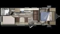 2019 Autumn Ridge Outfitter 26BH Floor Plan