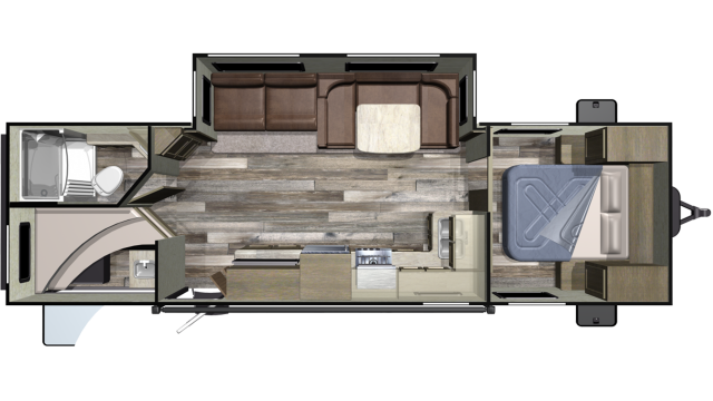 2019 Autumn Ridge Outfitter 282BH
