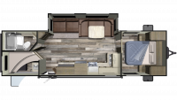 2019 Autumn Ridge Outfitter 282BH Floor Plan