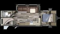 2019 Autumn Ridge Outfitter 282BH Floor Plan