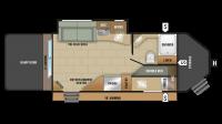 2018 GPS 210RLD Floor Plan