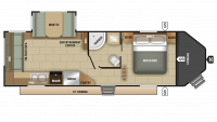 2019 GPS 260RLS Floor Plan