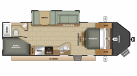 2019 GPS 270BHS Floor Plan