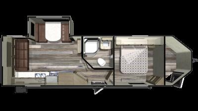 2019 GPS 260RLS Floor Plan Img