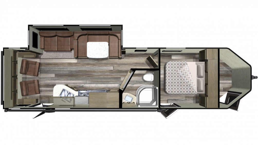 2019 GPS 274RLS Floor Plan Img