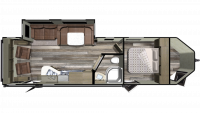 2019 GPS 274RLS Floor Plan