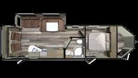 2019 GPS 274RLS Floor Plan