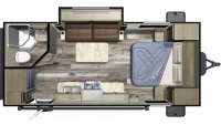 2019 Launch Outfitter 21FBS Floor Plan