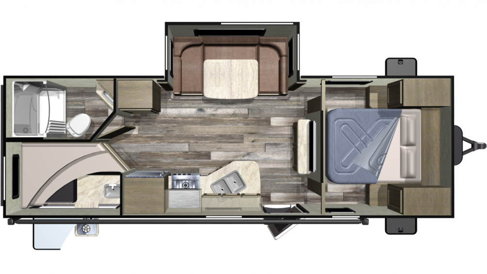2019 Launch Outfitter 24ODK Floor Plan Img