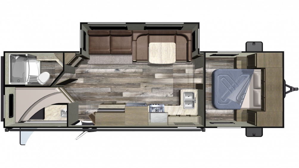 2019 Launch Outfitter 283BH Floor Plan Img